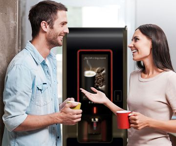 Coffee & hot drinks vending