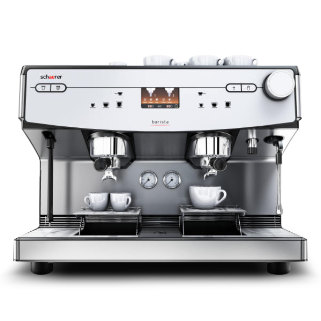 Schaerer Barista semi automatic tabletop coffee machines