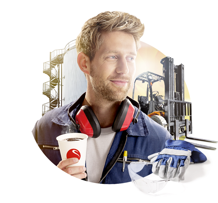 Coffee for manufacturing and logistics